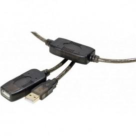 Câble rallonge amplifiée USB 2.0 20m