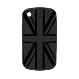 Coque BlackBerry drapeau UK noir