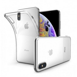 Coque transparente pour iPhone X