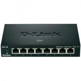D-LINK DGS-108 - Switch 8 ports