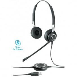 Jabra BIZ 2400 II USB UC MS - Bluetooth Duo