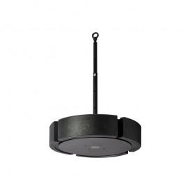 Haut parleur plafonnier noir 200W