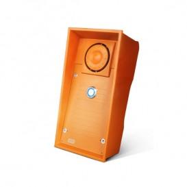 Interphone Helios IP Safety 2N bouton et haut-parleur