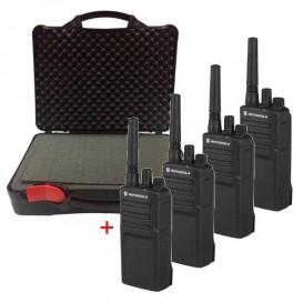 PACK: 4 x Motorola XT420 avec mallette resistante