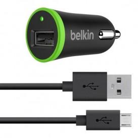 Chargeur allume cigare 2.4A - 10W USB-micro USB