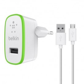Chargeur secteur 2.1A + cable USB-micro USB
