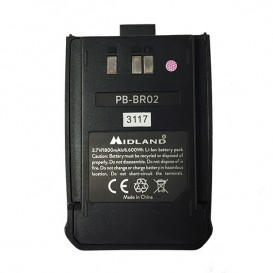 Batterie de remplacement pour Midland BR-02