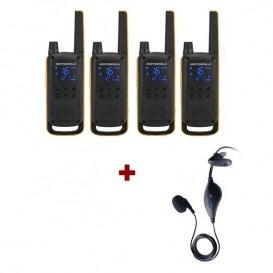 Pack de 4 Motorola Extreme + Kit piéton TLKR