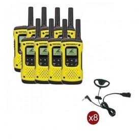 Pack de 8 Motorola T92 + Contour d'oreilles