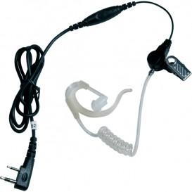 Kit écouteur transparent PTT pour Motorola Pro