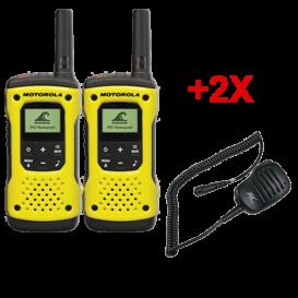 Motorola T92 Duo + Micros haut-parleurs déportés