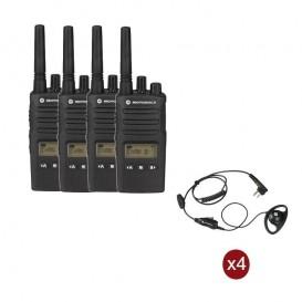 Pack de 4 Motorola XT460 + Contour d'oreilles