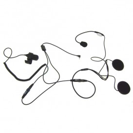 Micro casque pour talkie-walkie Motorola 1 pin