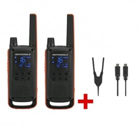 Motorola Talkabout T82 + Câble de charge double