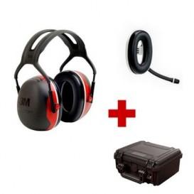 Pack de communication Bluetooth avec 3M Peltor X3