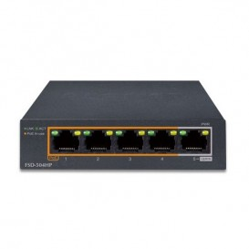 Switch 5 ports Planet FSD-504HP