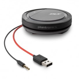 Plantronics Calisto 5200 - USB-C et Jack 3.5mm + 30 jours d'accès au service de conférence téléphonique OFFERTS