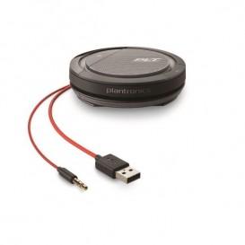 Plantronics Calisto 5200 - USB-A et Jack 3.5mm + 30 jours d'accès au service de conférence téléphonique OFFERTS