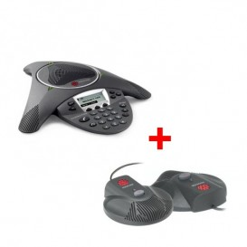Polycom Soundstation IP6000 + 2 micros d'extension