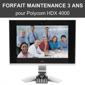 Forfait maintenance Premier 3 ans - HDX 4000