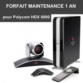 Forfait maintenance Premier 1 an - HDX 6000