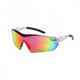 Lunettes balistiques Racers MSA Oculaire miroir rouge arc-en-ciel