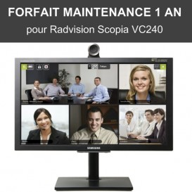 Forfait maintenance 1 an - Scopia VC240