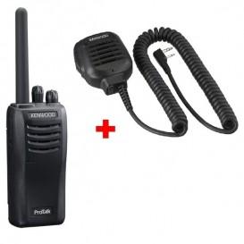 Pack Pro : Kenwood TK-3501 + Micro haut-parleur déporté sur l'épaule