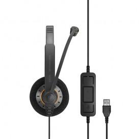 Casque USB Sennheiser SC60 UC MS Duo
