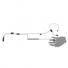 Casque avec bague bouton PTT pour talkies-walkies TAIT