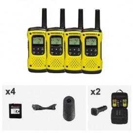 Motorola TLKR T92 H₂O Talkie Walkie - Quad Pack