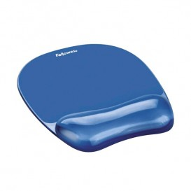 Tapis de souris - Repose poignet Gel Crystal™ Fellowes