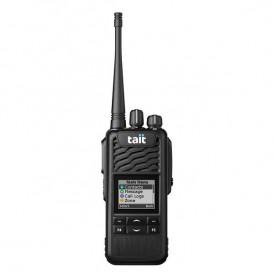 TAIT TP3300 UHF avec écran et clavier 4 touches + Microphone-HP déporté sur épaule