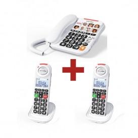 Swissvoice Xtra 3155 + 2 combinés supplémentaires