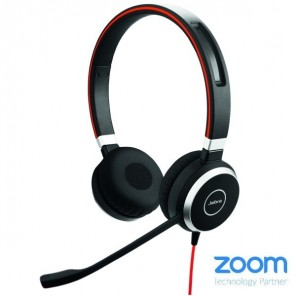 Casque PC Jabra Evolve 40 USB UC Duo