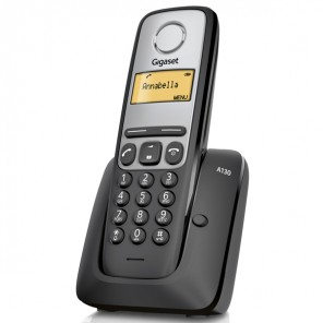 Téléphone sans fil Gigaset A130 noir
