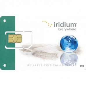 Carte SIM Prépayée avec activation Iridium