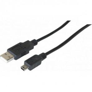 Cordon USB-A 2.0 vers micro USB-B 1,5m