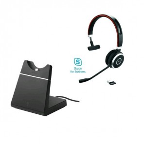 Jabra Evolve 65 UC MS Mono + Socle de charge