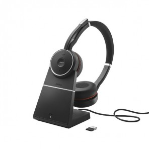 Jabra Evolve 75 USB UC Duo + Support