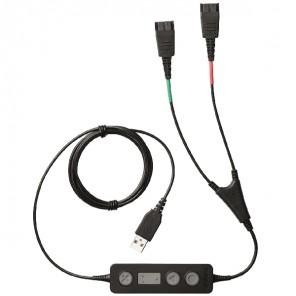 Jabra Link 265 - cordon Y/USB