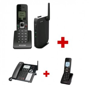 Pack Ministandard Alcatel: IP2215 + IP30 + IP15