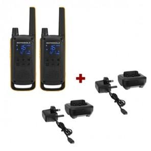 Pack Motorola TLKR T82 Extreme + Socles de charge