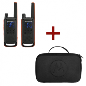 Motorola T82 Talkabout + Mallette de transport