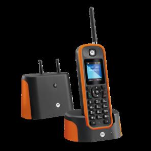 Téléphone sans fil Motorola O201 Orange