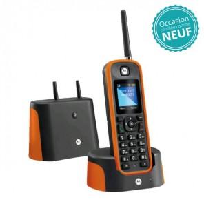 Téléphone sans fil Motorola O201 Orange - Occasion