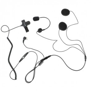 Micro casque pour talkie-walkie Motorola 2-Pin