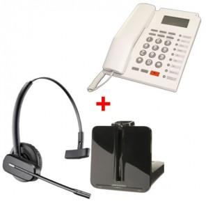 Plantronics CS540 + téléphone de bureau PK-111