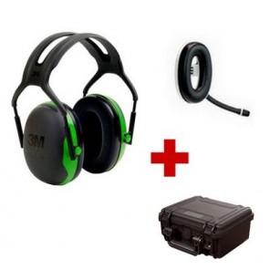 Pack de communication Bluetooth avec 3M Peltor X1
