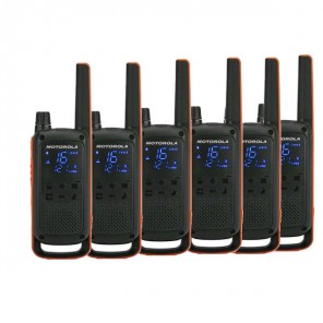 Pack de 6 Motorola TLKR T82